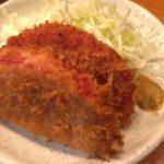 カドクラ【上野駅】タモリ倶楽部でも紹介されたミルフィーユタイプのハムカツにホッピーをそえて…